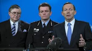 Tony Abbott terrorism alert (Image by Sydney Morning Herald)