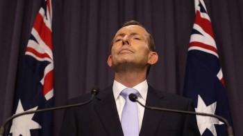 Tony Abbott - oozing arrogance (image from canberratimes.com.au)
