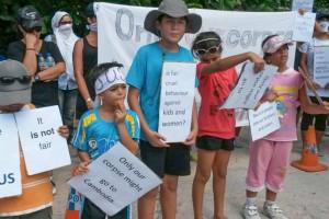 asylum seeker children protest on Nauru